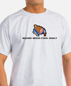 wizard needs food T-Shirt