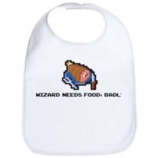 wizard needs food Bib