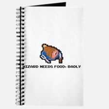 wizard needs food Journal