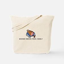 wizard needs food Tote Bag