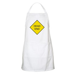 Dead End Sign BBQ Apron