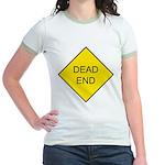 Dead End Sign Jr. Ringer T-Shirt
