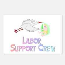 Labor Support Crew (Stork) Postcards (Package of 8