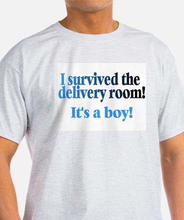 I Survived The Delivery Room (It's A Boy!) T-Shirt