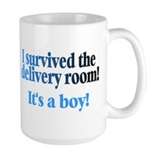 I Survived The Delivery Room (It's A Boy!) Mug