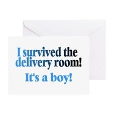 I Survived The Delivery Room (It's A Boy!) Greetin