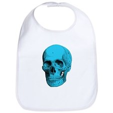 Human Anatomy Skull Baby Bib