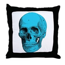 Human Anatomy Skull Throw Pillow