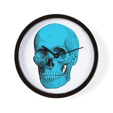 Human Anatomy Skull Wall Clock