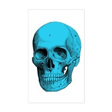 Human Anatomy Skull Rectangle Decal