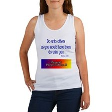 Repeal Prop 8 Rainbow Women's Tank Top