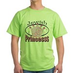 Jewish Princess Green T-Shirt