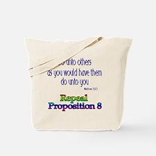 Repeal Prop 8 RBL Tote Bag
