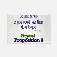 Repeal Prop 8 RBL Rectangle Magnet