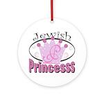 Jewish Princess Ornament (Round)