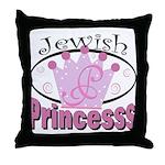 Jewish Princess Throw Pillow