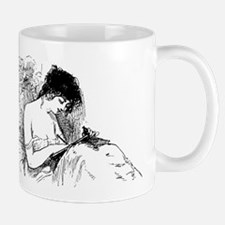 Writing with pillows Mug