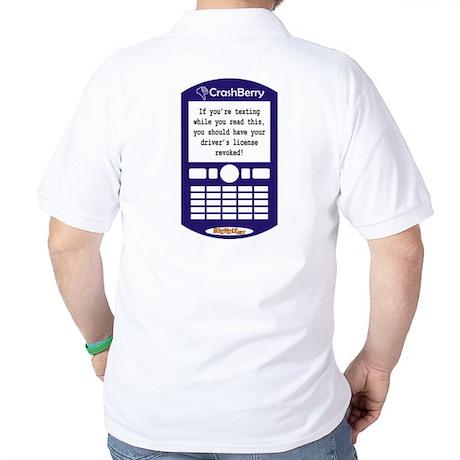CrashBerry - Driver's License Golf Shirt
