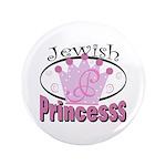 "Jewish Princess 3.5"" Button"
