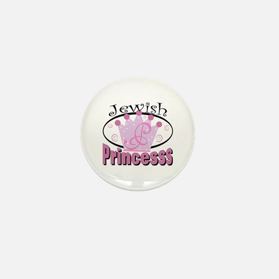Jewish Princess Mini Button