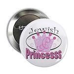 "Jewish Princess 2.25"" Button (100 pack)"