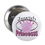 "Jewish Princess 2.25"" Button (10 pack)"