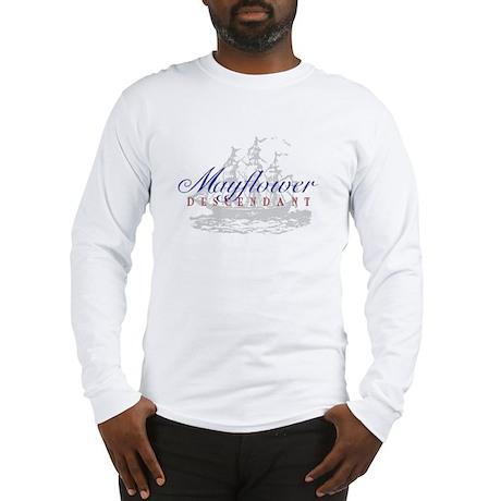 Mayflower Descendant - Long Sleeve T-Shirt
