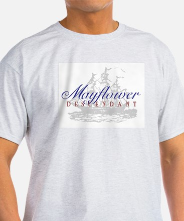 Mayflower Descendant - T-Shirt