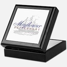 Mayflower Descendant - Keepsake Box