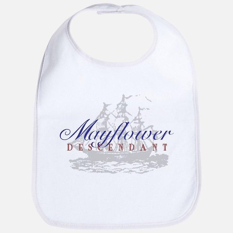 Mayflower Descendant - Bib