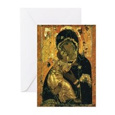 Virgin of Vladimir - Greeting Cards (Pk of 10)