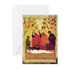 Entombment Icon - Greeting Cards (Pk of 10)
