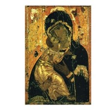 Virgin of Vladimir - Postcards (Package of 8)