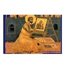 St.Luke Icon - Postcards (Package of 8)