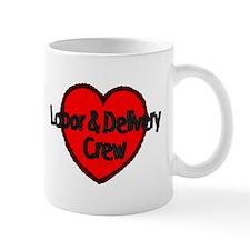Labor & Delivery Crew (Heart) Mug