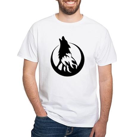 Wolfire White T-Shirt