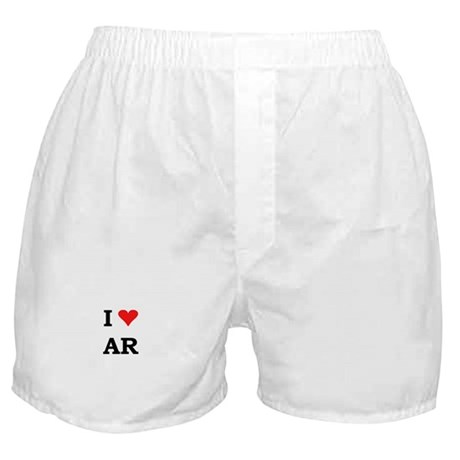 I Heart Arkansas Boxer Shorts