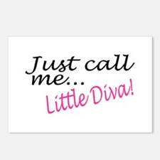 Just Call Me Little Diva Postcards (Package of 8)