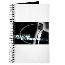 Barack Obama is President, Journal