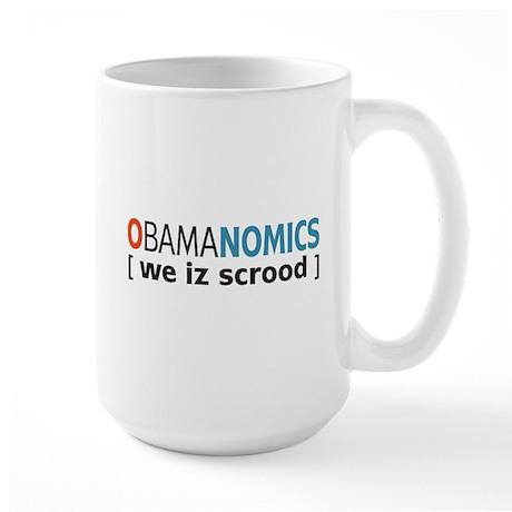 Anti - Obama Large Mug