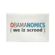 Anti - Obama Rectangle Magnet