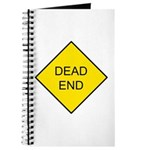 Dead End Sign Journal