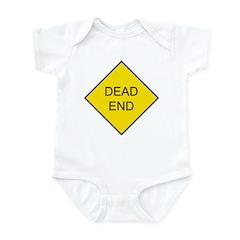 Dead End Sign Infant Creeper