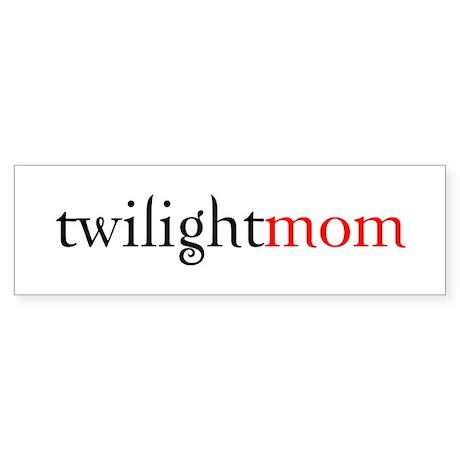 twilight mom Bumper Sticker