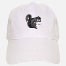Gray Squirrel Baseball Baseball Cap