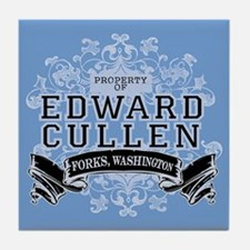Edward Cullen Twilight Tile Coaster
