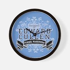 Edward Cullen Twilight Wall Clock