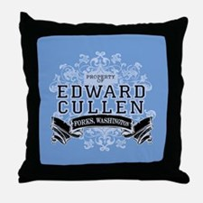 Edward Cullen Twilight Throw Pillow