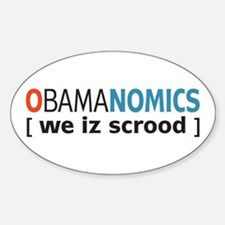Anti - Obama Oval Decal