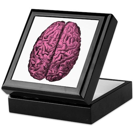 Human Anatomy Brain Keepsake Box